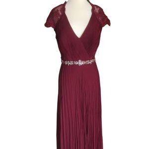 Jovani 73585 burgundy size 12